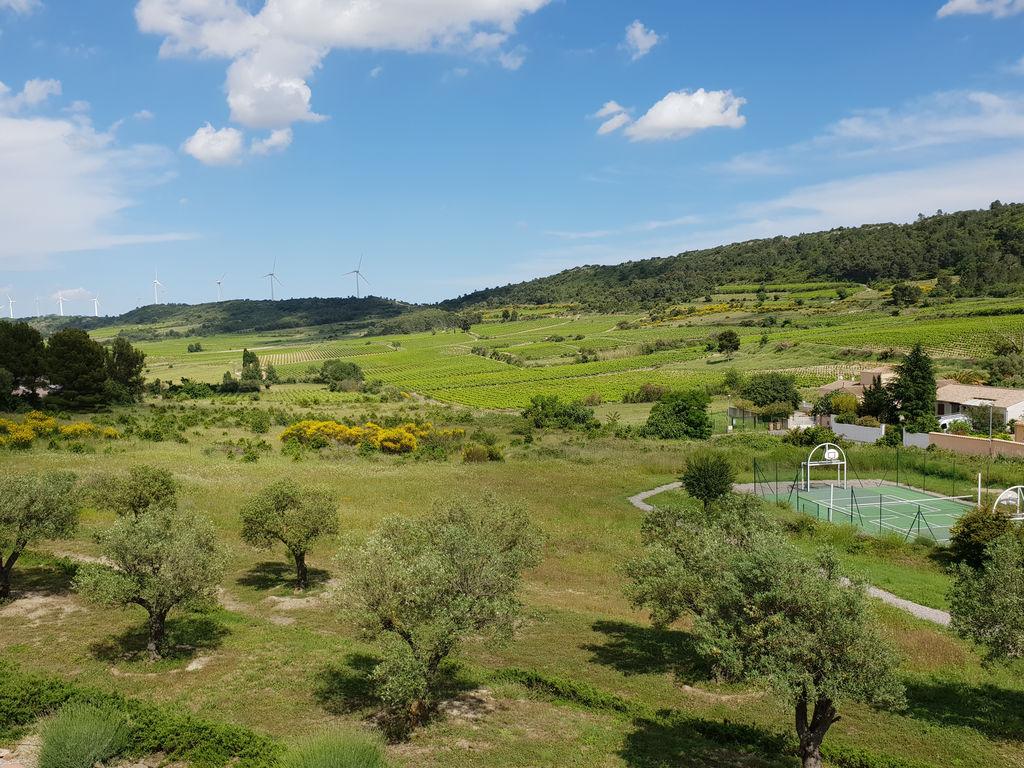 Maison de vacances Großartige Villa in Montbrun-des-Corbières mit privatem Pool (2542396), Azille, Aude intérieur, Languedoc-Roussillon, France, image 9