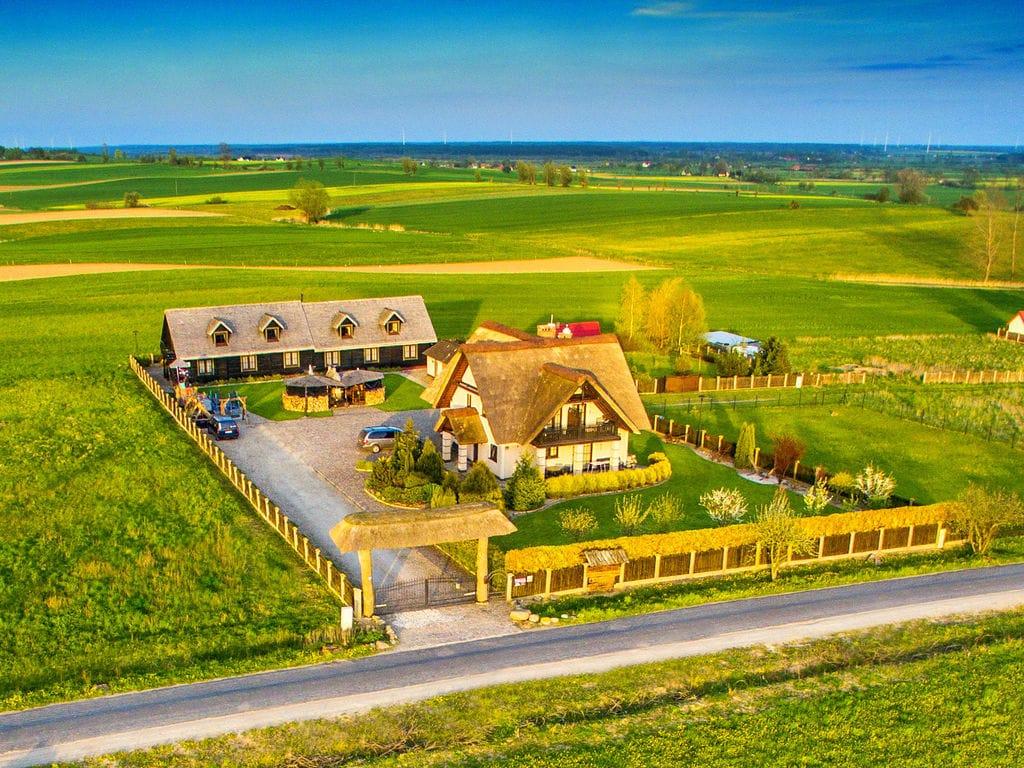 Gemütliches Cottage in Cisowo mit Garten  in Polen