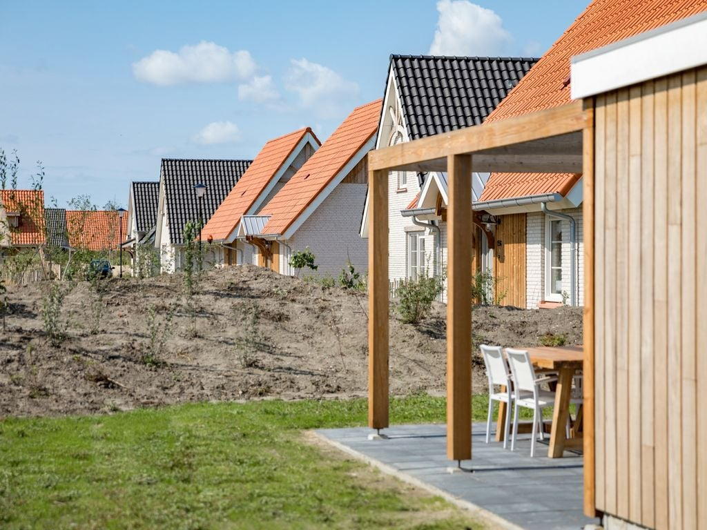 Ferienhaus Moderne Lodge mit Kombi-Mikrowelle, 500 m vom Strand entf. (2512090), Nieuwvliet, , Seeland, Niederlande, Bild 10