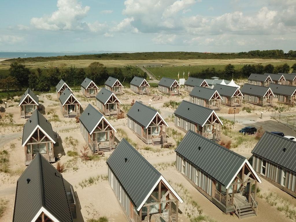 Ferienhaus Moderne Lodge mit Waschmaschine, Strand in Laufnähe (2512094), Nieuwvliet, , Seeland, Niederlande, Bild 22