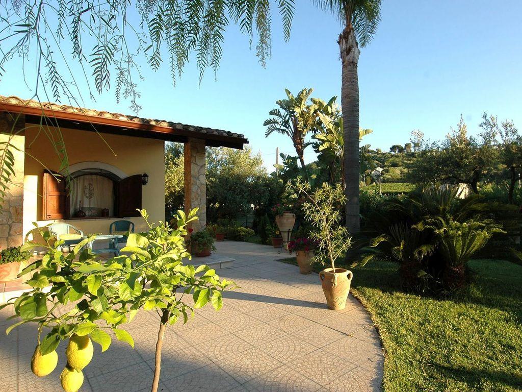 Maison de vacances Charmante Villa in Trappeto in Strandnähe (2523133), Pioppo, Palermo, Sicile, Italie, image 3