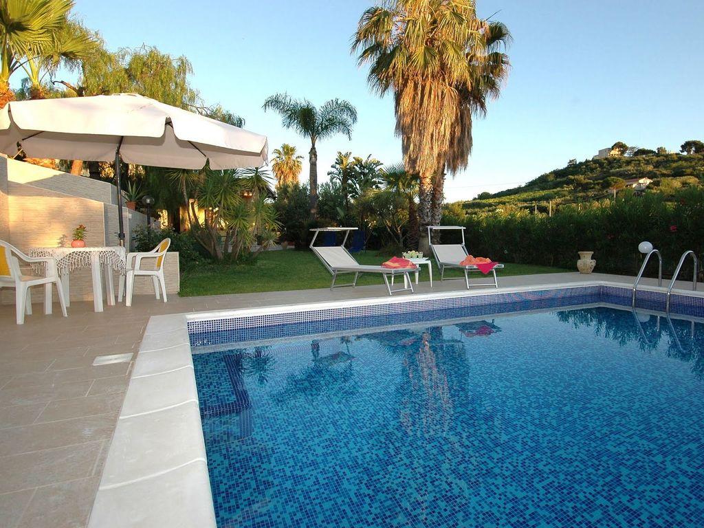 Maison de vacances Charmante Villa in Trappeto in Strandnähe (2523133), Pioppo, Palermo, Sicile, Italie, image 6