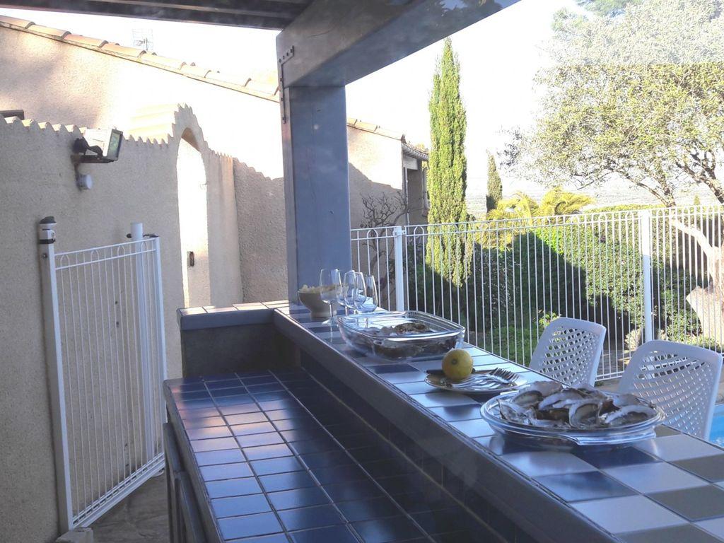 Ferienhaus Eingezäunte Ferienvilla nahe Narbonne-Plage mit Privatpool (2535362), Narbonne, Mittelmeerküste Aude, Languedoc-Roussillon, Frankreich, Bild 9