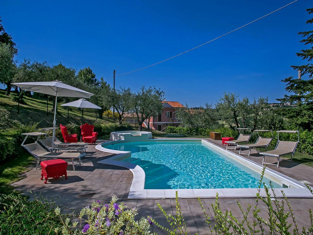Ferienhaus Gemütliches Apartment in Candelara nahe der Adriaküste (2540174), Pesaro, Pesaro und Urbino, Marken, Italien, Bild 4