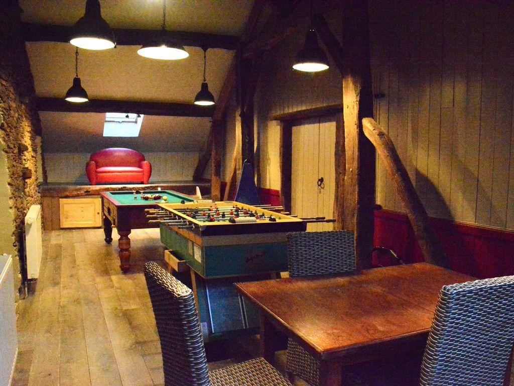 Ferienhaus Geräumiges Ferienhaus mit Terrasse in Bièvre (2556640), Bièvre, Namur, Wallonien, Belgien, Bild 13