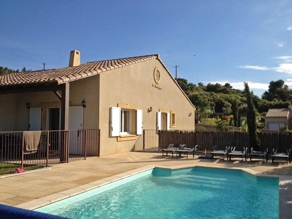 Maison de vacances Moderne Villa mit privatem Pool in Montburn-des-Corbieres (2594659), Azille, Aude intérieur, Languedoc-Roussillon, France, image 4