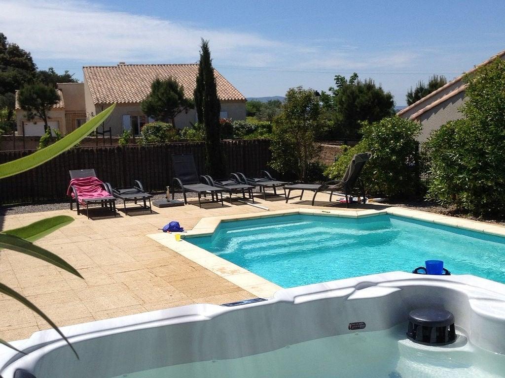 Maison de vacances Moderne Villa mit privatem Pool in Montburn-des-Corbieres (2594659), Azille, Aude intérieur, Languedoc-Roussillon, France, image 8