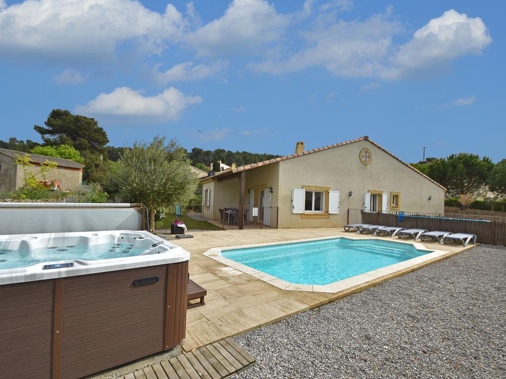 Maison de vacances Moderne Villa mit privatem Pool in Montburn-des-Corbieres (2594659), Azille, Aude intérieur, Languedoc-Roussillon, France, image 1