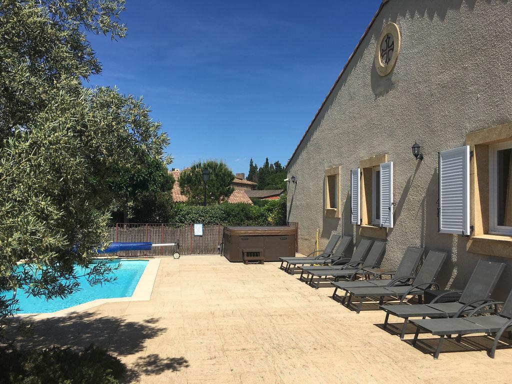 Maison de vacances Einladende Villa mit Pool in Montburn-des-Corbieres (2596999), Azille, Aude intérieur, Languedoc-Roussillon, France, image 18