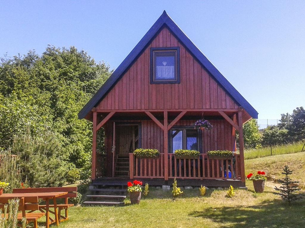 Ruhiges Ferienhaus in Ermland-Masuren mit Parkplat Ferienhaus in Polen