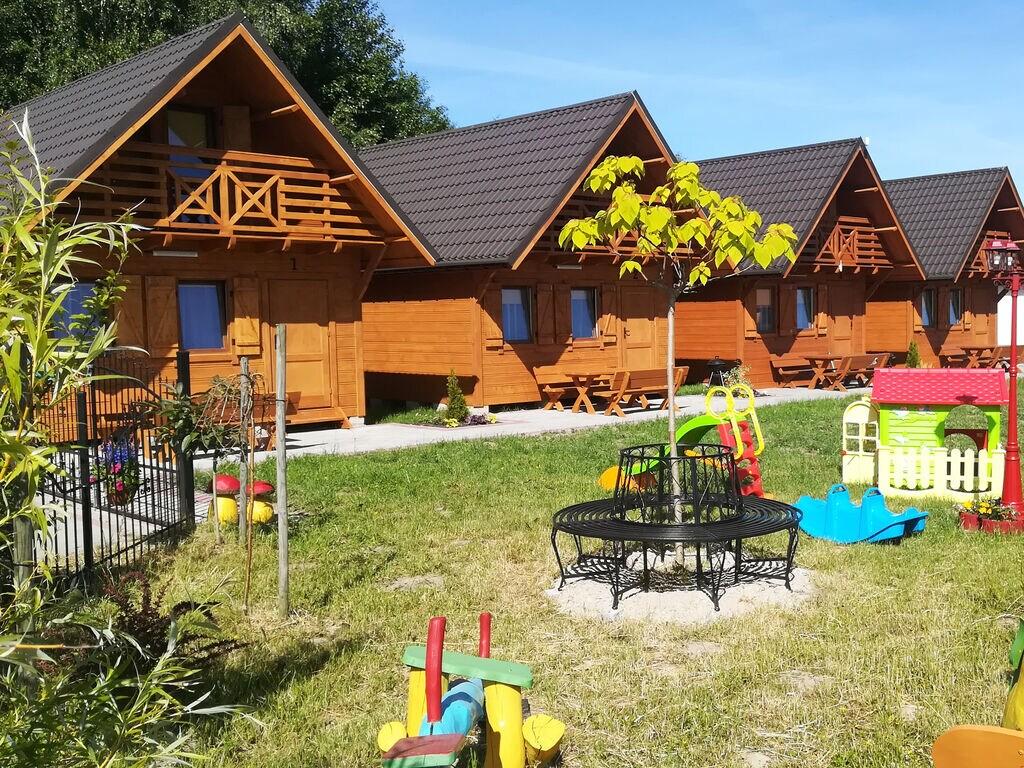 Ferienhaus am Meer in Wicie mit Parkplatz und Spie Ferienhaus in Polen
