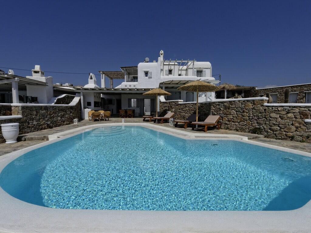Holiday house Villa Lucia (2655601), Kalafatis, Mykonos, Cyclades, Greece, picture 1