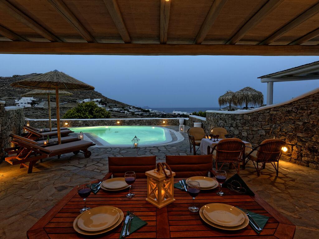 Holiday house Villa Lucia (2655601), Kalafatis, Mykonos, Cyclades, Greece, picture 2