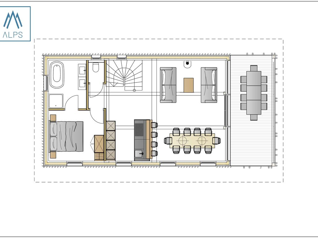 Ferienhaus Luxus-Chalet Nähe Schladming mit eigenem Spa (2685054), Haus, Schladming-Dachstein, Steiermark, Österreich, Bild 11