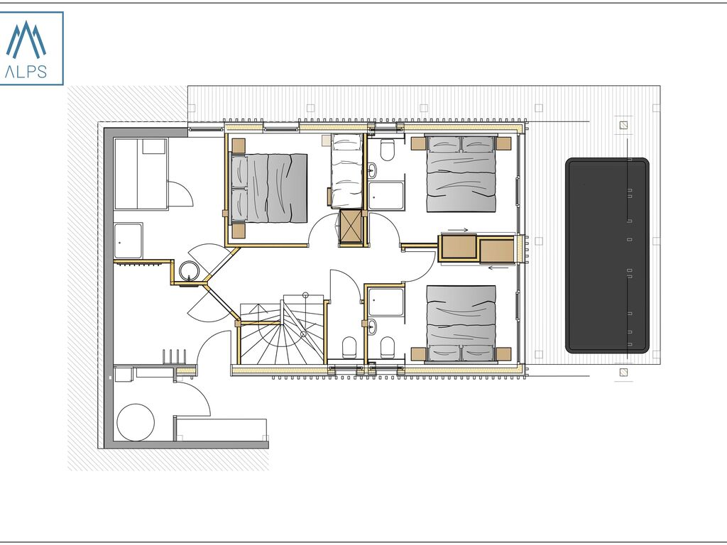 Ferienhaus Luxus-Chalet Nähe Schladming mit eigenem Spa (2685054), Haus, Schladming-Dachstein, Steiermark, Österreich, Bild 12