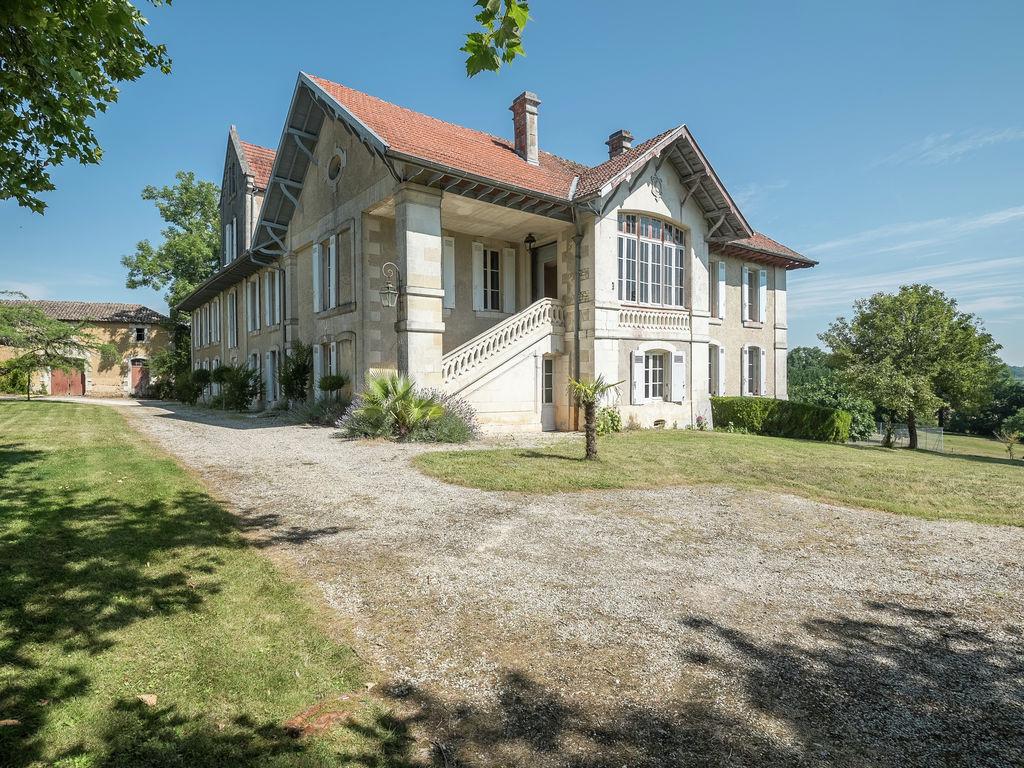 Ferienhaus Heritage-Schloss in Courpignac, Frankreich, mit Schwimmbad (1404753), Montendre, Atlantikküste Charente-Maritime, Poitou-Charentes, Frankreich, Bild 2