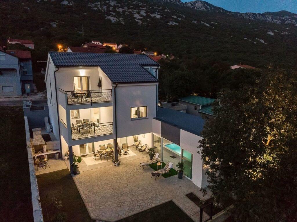 Maison de vacances Hinreißendes Ferienhaus in Tribalj in der Nähe der Biserujka-Höhlen (2819198), Tribalj, , Kvarner, Croatie, image 6