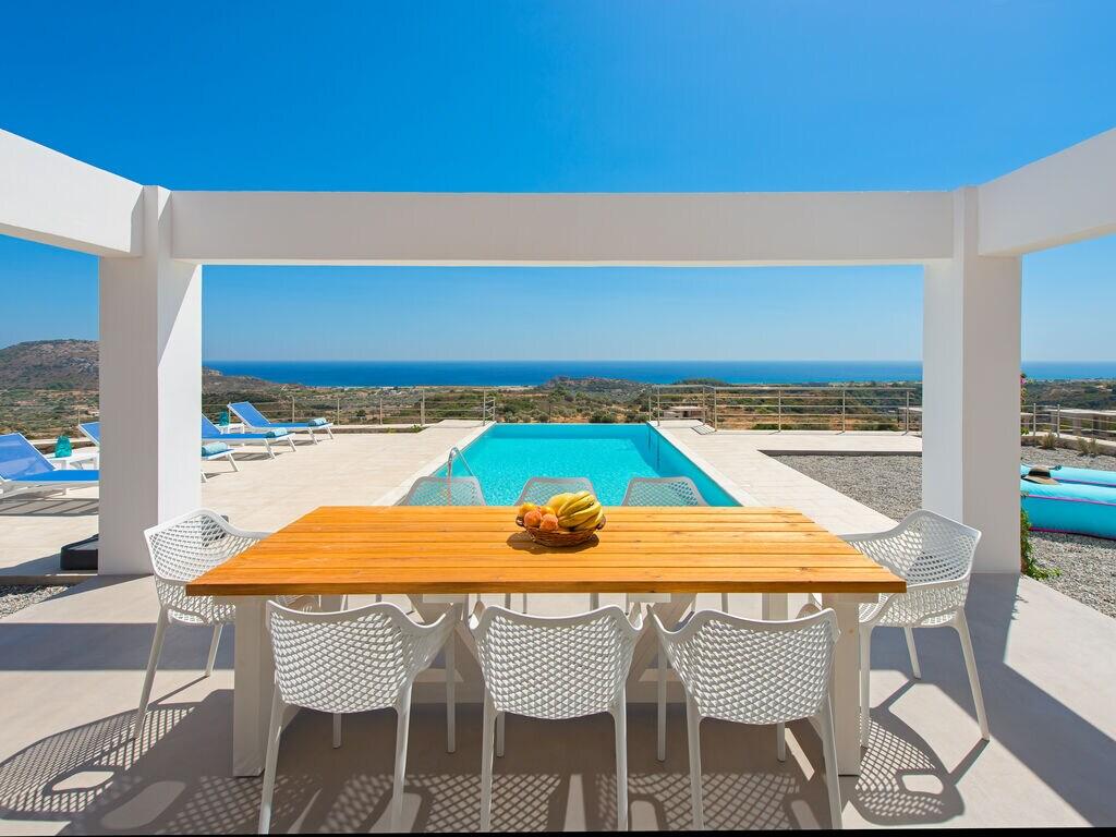 Holiday house Schöne neue Luxusvilla mit Überlaufpool, Außenküche und Meerblick (2753002), Faliraki, Rhodes, Dodecanes Islands, Greece, picture 4