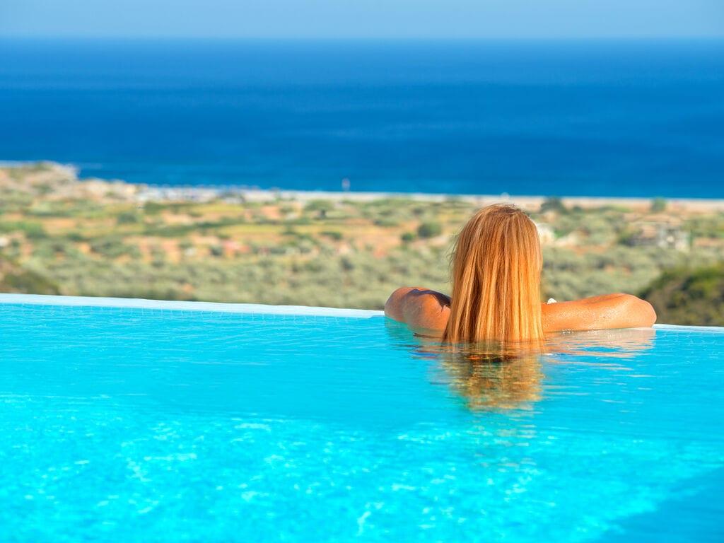 Holiday house Schöne neue Luxusvilla mit Überlaufpool, Außenküche und Meerblick (2753002), Faliraki, Rhodes, Dodecanes Islands, Greece, picture 6