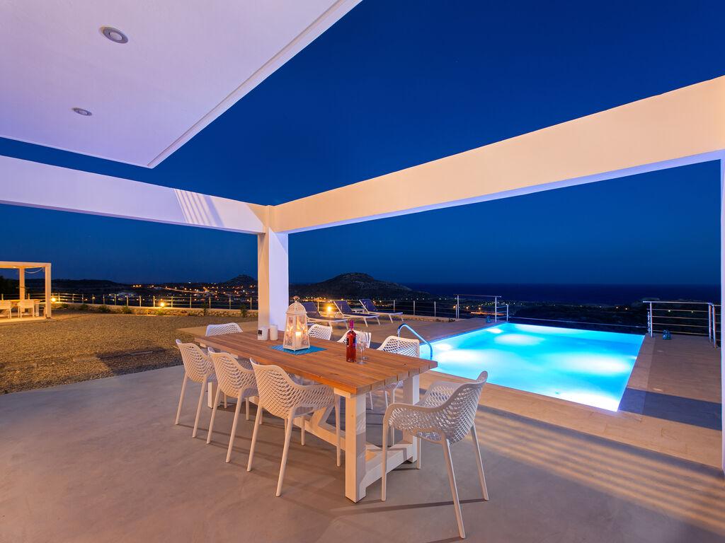 Holiday house Schöne neue Luxusvilla mit Überlaufpool, Außenküche und Meerblick (2753002), Faliraki, Rhodes, Dodecanes Islands, Greece, picture 8
