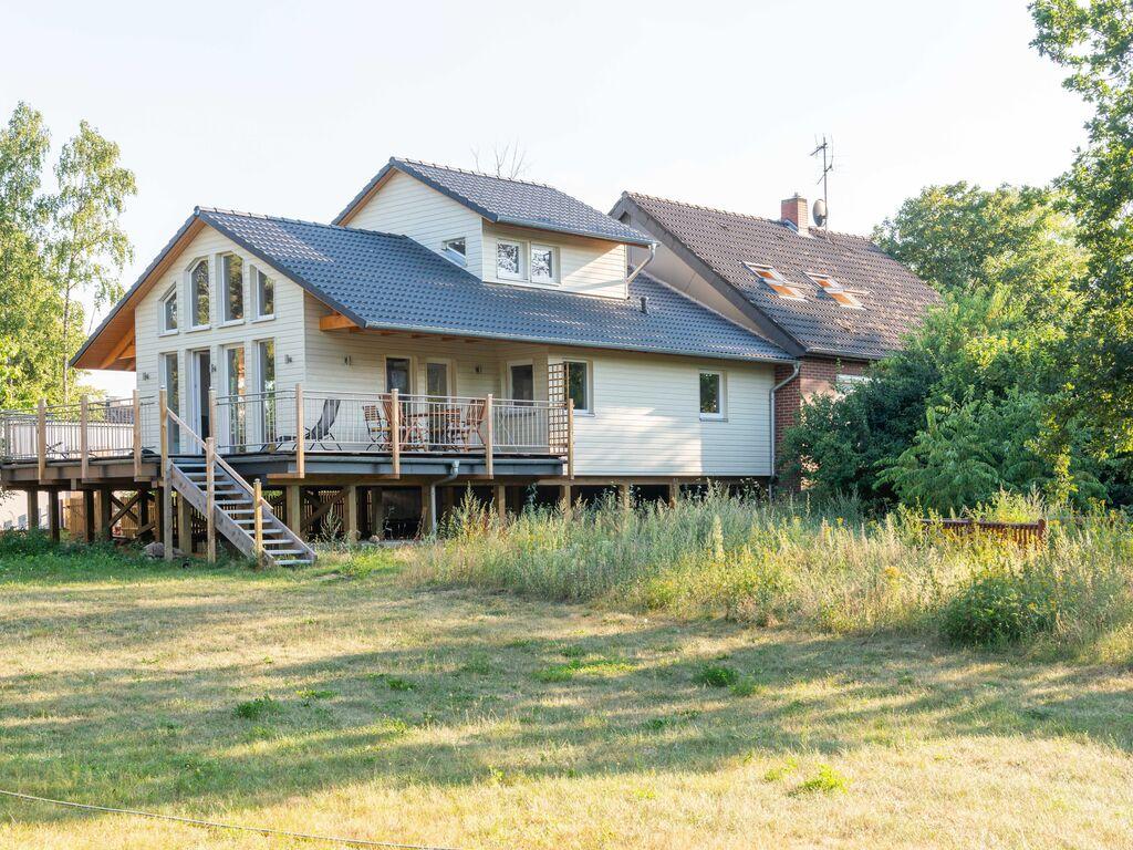 Ruhiges Ferienhaus in Winsen, Pfahlhaus am Fluss Ferienhaus in Deutschland