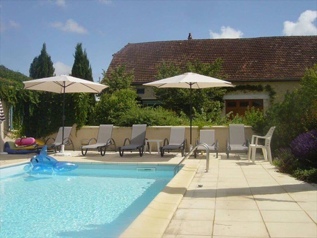 Ferienhaus Gemütliche Unterkunft in Dégagnac mit beheiztem Pool und Whirlpool (2790914), Salviac, Lot, Midi-Pyrénées, Frankreich, Bild 15
