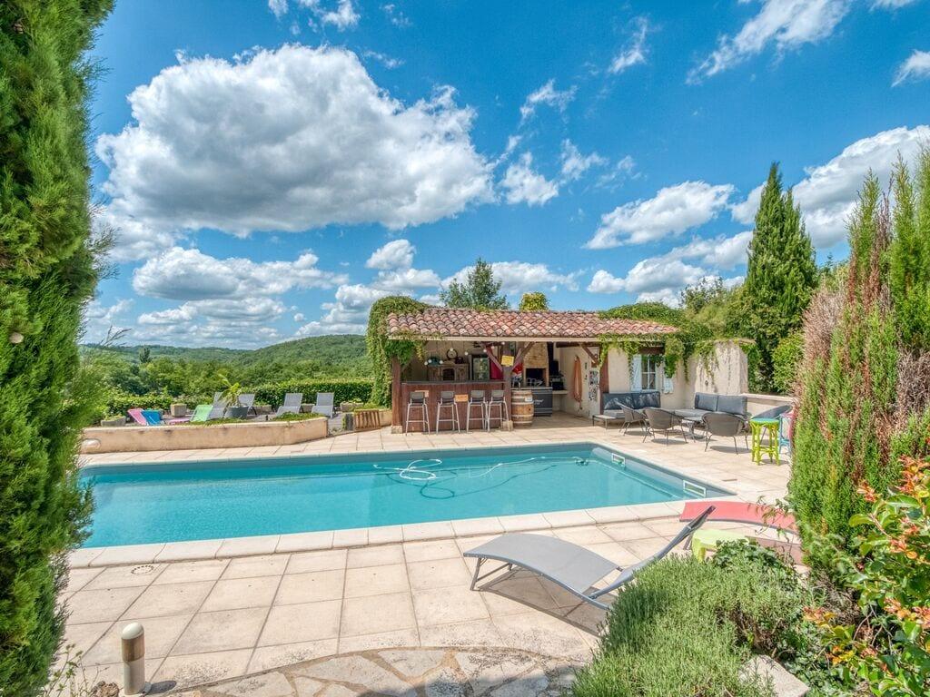 Ferienhaus Gemütliche Unterkunft in Dégagnac mit beheiztem Pool und Whirlpool (2790914), Salviac, Lot, Midi-Pyrénées, Frankreich, Bild 16