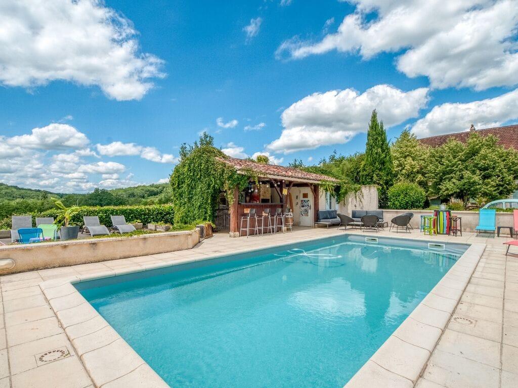 Ferienhaus Gemütliche Unterkunft in Dégagnac mit beheiztem Pool und Whirlpool (2790914), Salviac, Lot, Midi-Pyrénées, Frankreich, Bild 36