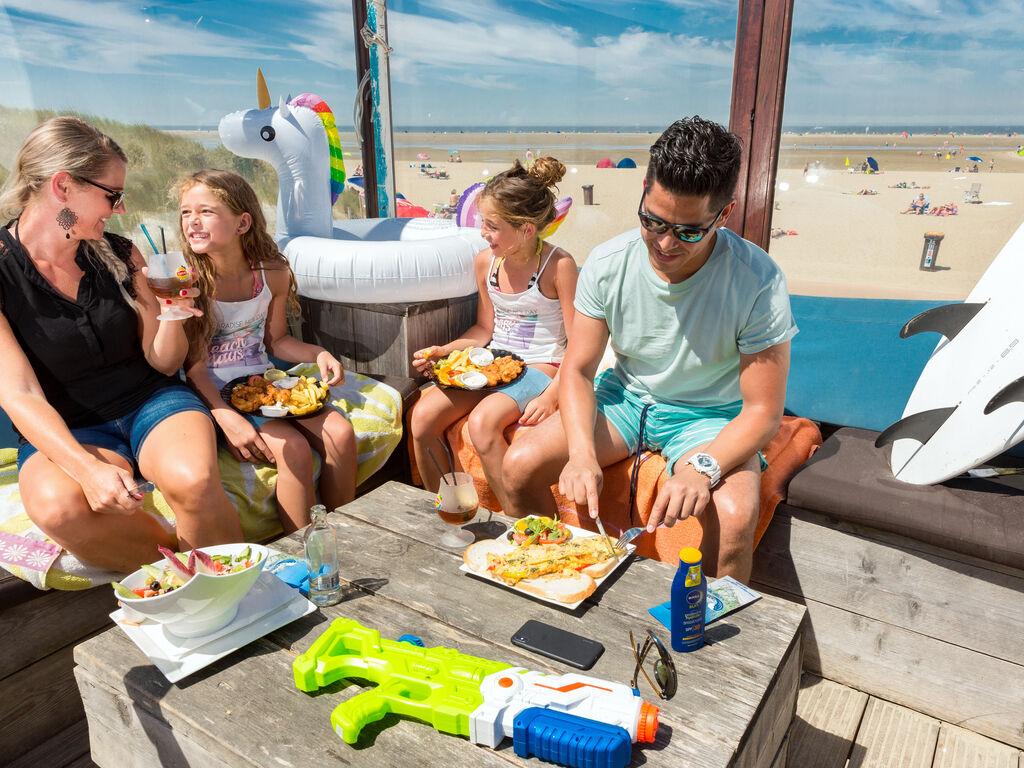 Ferienhaus Moderne Lodge mit Kombi-Mikrowelle, 500 m vom Strand entfernt. (2780002), Nieuwvliet, , Seeland, Niederlande, Bild 13