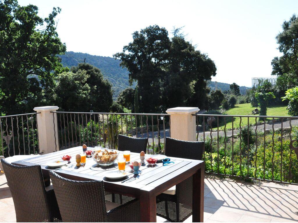Holiday house Sehr schöne Villa in Plan-de-la-Tour mit eigenem Pool und Panoramablick (2786709), Sainte Maxime, Côte d'Azur, Provence - Alps - Côte d'Azur, France, picture 26