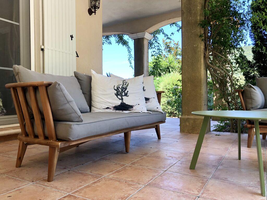 Holiday house Sehr schöne Villa in Plan-de-la-Tour mit eigenem Pool und Panoramablick (2786709), Sainte Maxime, Côte d'Azur, Provence - Alps - Côte d'Azur, France, picture 49