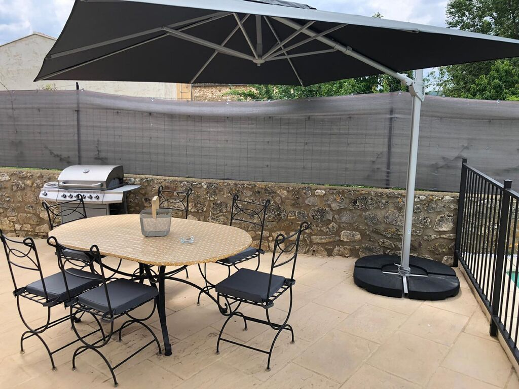 Ferienhaus Hübsches Ferienhaus in Saint-Laurent-de-Carnols mit Pool (2833716), Bagnols sur Cèze, Gard Binnenland, Languedoc-Roussillon, Frankreich, Bild 24