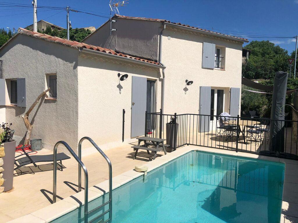 Ferienhaus Hübsches Ferienhaus in Saint-Laurent-de-Carnols mit Pool (2833716), Bagnols sur Cèze, Gard Binnenland, Languedoc-Roussillon, Frankreich, Bild 5