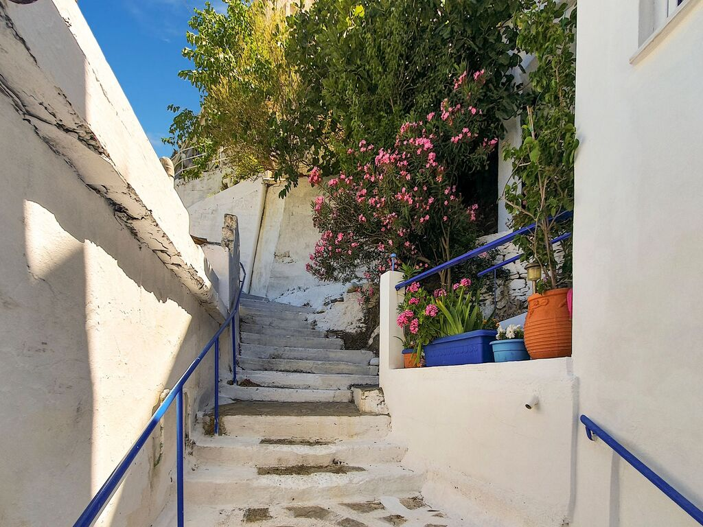 Holiday apartment Anmutige Wohnung in Therma mit Balkon (2820131), Aj. Kirykos, Ikaria, Dodecanes Islands, Greece, picture 13