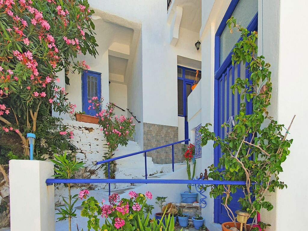 Holiday apartment Einladende Wohnung in Therma mit Balkon (2820144), Aj. Kirykos, Ikaria, Dodecanes Islands, Greece, picture 6