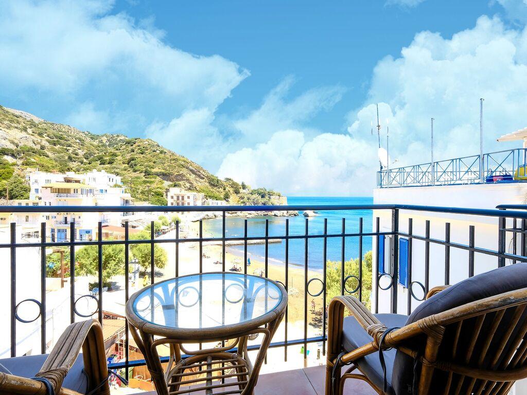 Holiday apartment Einladende Wohnung in Therma mit Balkon (2820144), Aj. Kirykos, Ikaria, Dodecanes Islands, Greece, picture 3