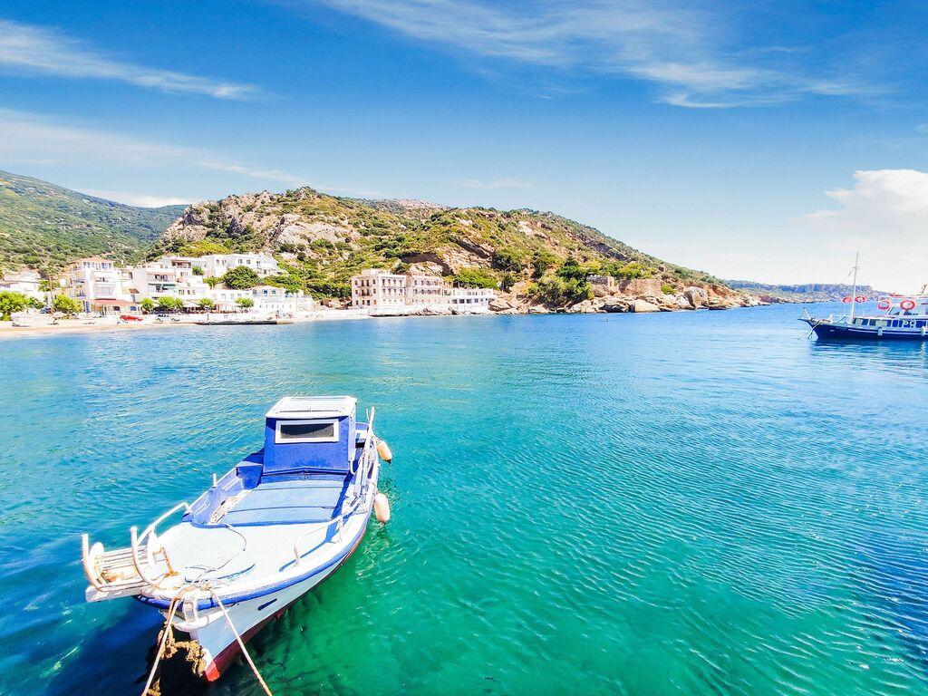 Holiday apartment Einladende Wohnung in Therma mit Balkon (2820144), Aj. Kirykos, Ikaria, Dodecanes Islands, Greece, picture 23