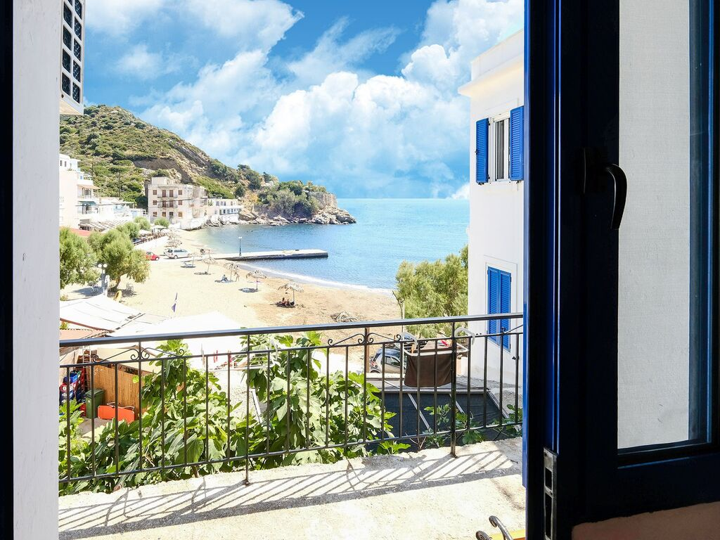 Holiday apartment Apartment mit Meerblick in Therma mit Balkon (2820137), Aj. Kirykos, Ikaria, Dodecanes Islands, Greece, picture 11