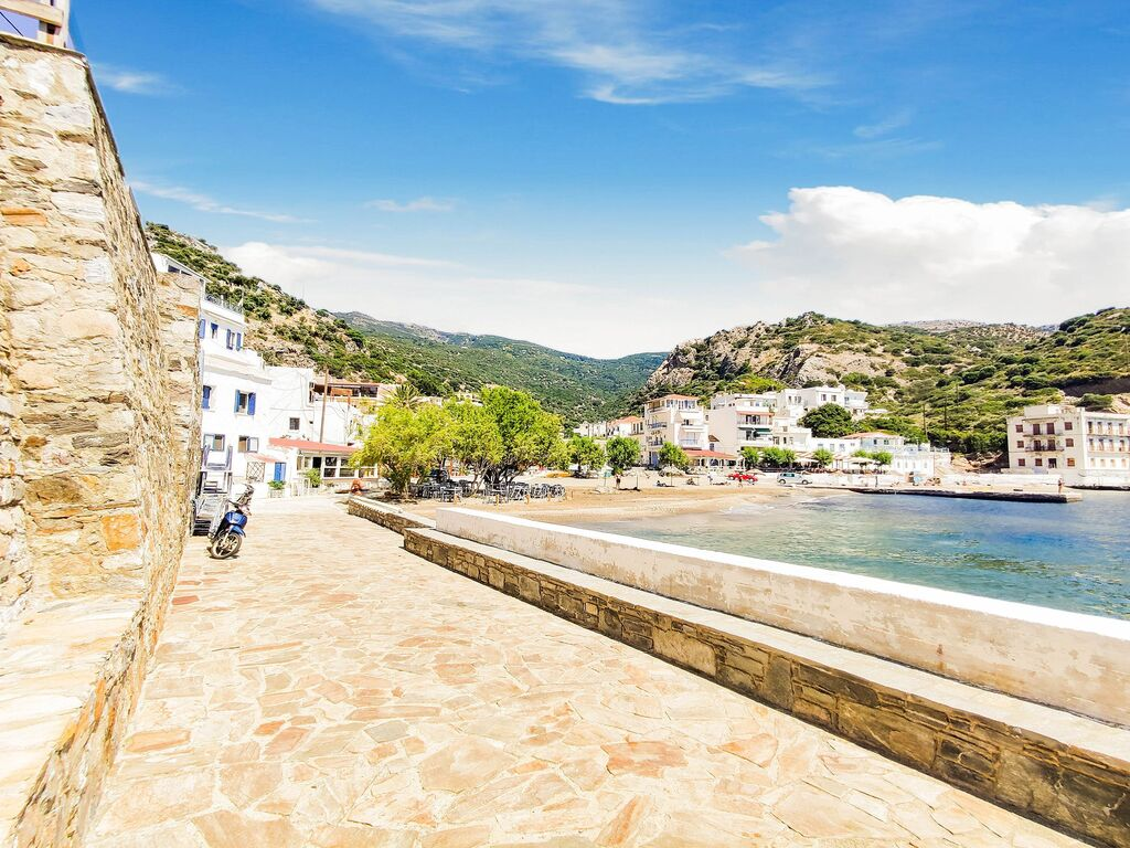 Holiday apartment Herrliche Wohnung in Therma mit Balkon (2820125), Aj. Kirykos, Ikaria, Dodecanes Islands, Greece, picture 19