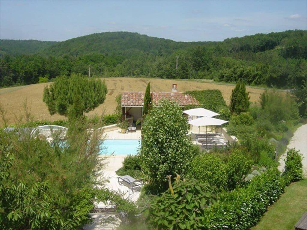 Ferienhaus mit Gartenblick in Dégagnac mit Whirlpool (2818351), Salviac, Lot, Midi-Pyrénées, Frankreich, Bild 10