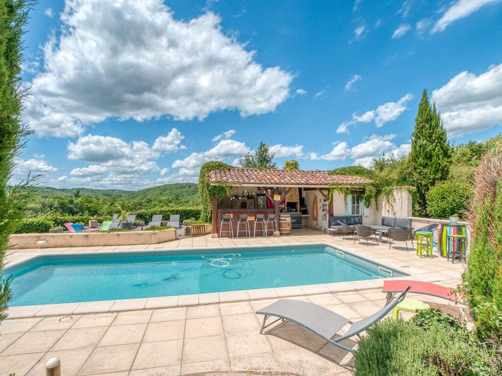 Ferienhaus mit Gartenblick in Dégagnac mit Whirlpool (2818351), Salviac, Lot, Midi-Pyrénées, Frankreich, Bild 15