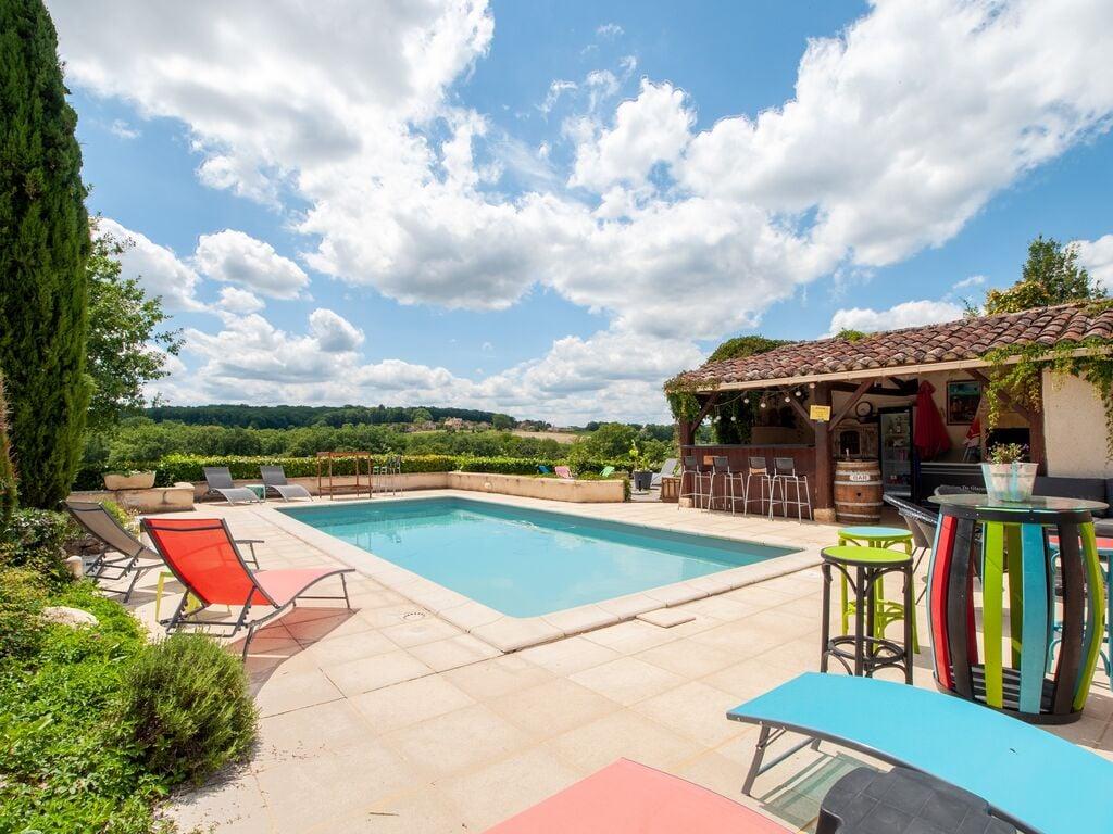 Ferienhaus mit Gartenblick in Dégagnac mit Whirlpool (2818351), Salviac, Lot, Midi-Pyrénées, Frankreich, Bild 14