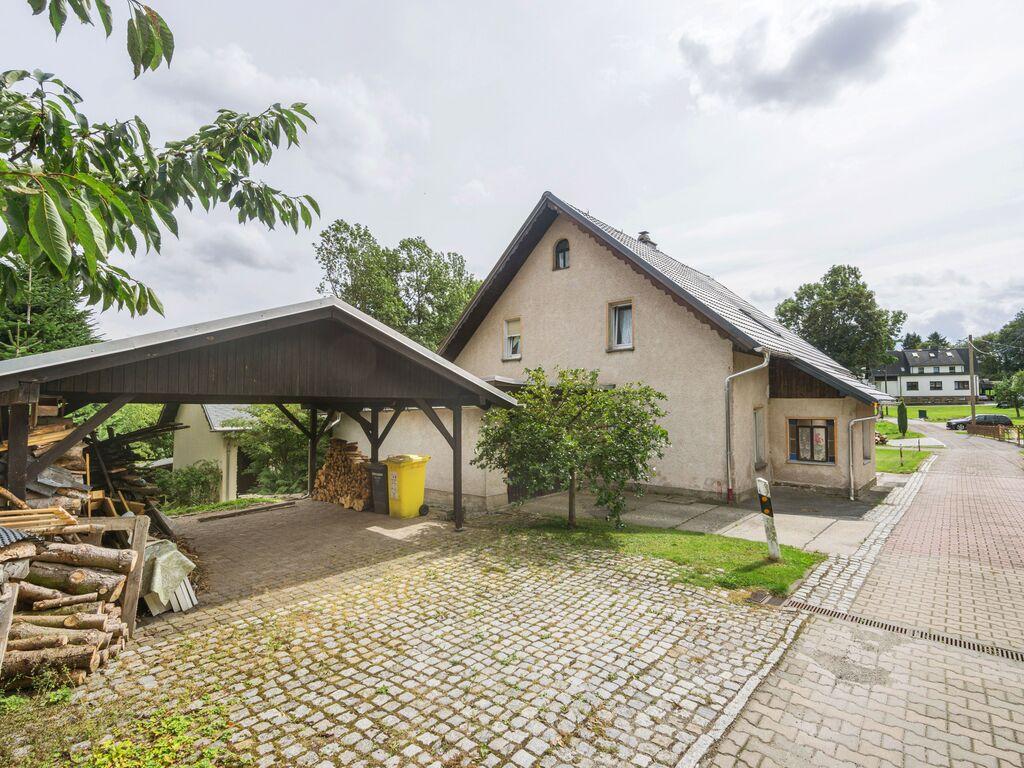 Kleines, freistehendes Ferienhaus in Sachsen mit o Ferienhaus in Sachsen