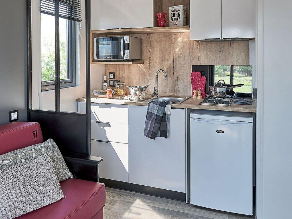 Ferienhaus Gemütliches Chalet mit Geschirrspüler, in der Nähe eines Sees (2870016), Maurik, Rivierenland, Gelderland, Niederlande, Bild 4