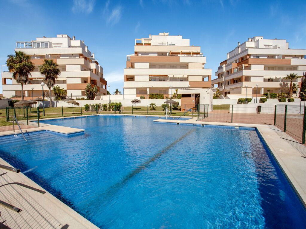 Schöne Wohnung in Roquetas de Mar mit Swimmin Ferienwohnung  Costa de Almeria