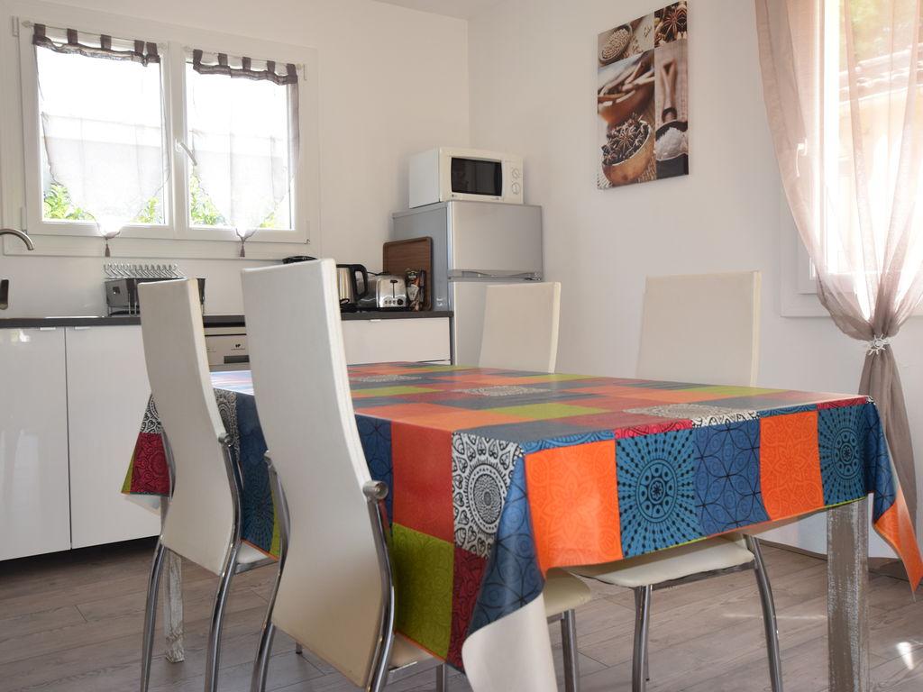 Ferienhaus Gemütliches Ferienhaus mit Terrasse in Lagorce, Ardeche (255890), Vallon Pont d'Arc, Ardèche-Drôme, Rhône-Alpen, Frankreich, Bild 8