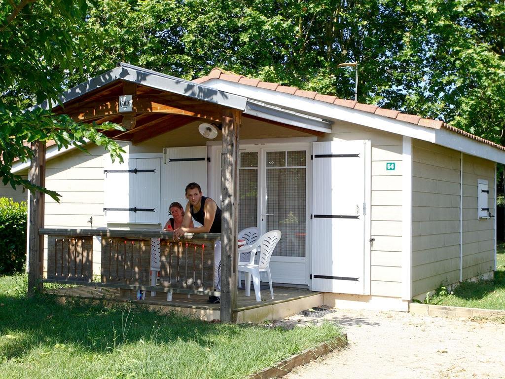 Ferienhaus Freistehendes Chalet mit überdachter Terrasse in der Natur (256253), Gaillac, Tarn, Midi-Pyrénées, Frankreich, Bild 10