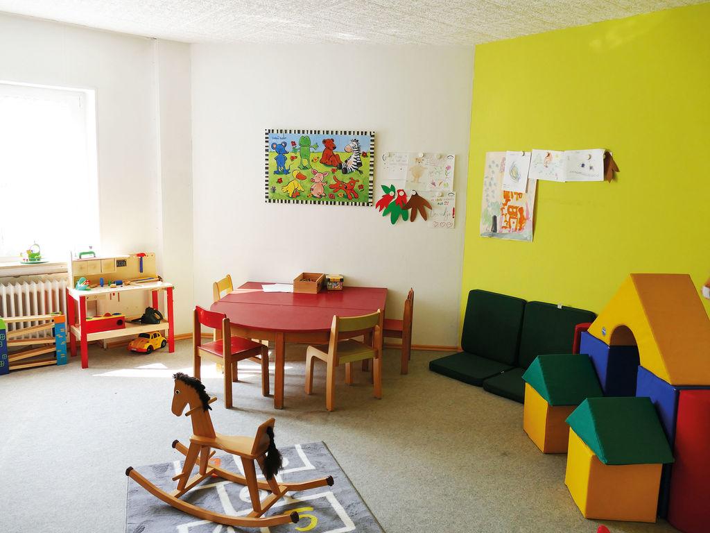 Ferienhaus Komfortable Ferienwohnung mit 2 Schlafzimmern mit großem Balkon und schönem Ausblick in de (255203), Bollendorf, Südeifel, Rheinland-Pfalz, Deutschland, Bild 5