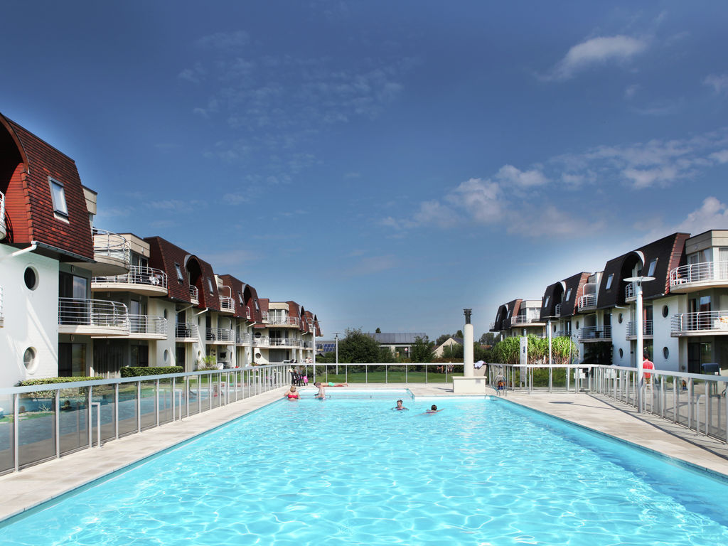 Ferienwohnung Luxuriöses Apartment in Bredene mit Schwimmbad (60541), Bredene, Westflandern, Flandern, Belgien, Bild 3