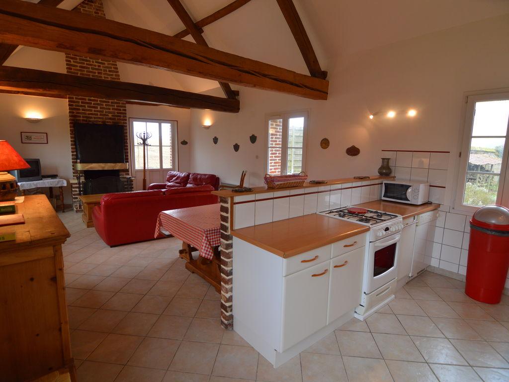 Ferienhaus Schönes Ferienhaus mit Whirlpool in Mouriez, Nordfrankreich (59279), Hesdin, Pas-de-Calais, Nord-Pas-de-Calais, Frankreich, Bild 6